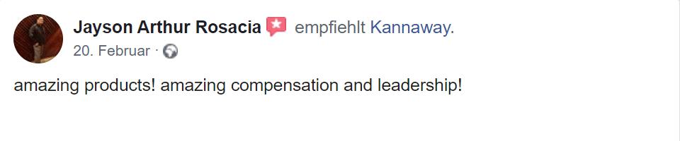 Erster Erfahrungsbericht Kannaway