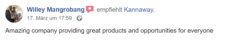 Zweiter Erfahrungsbericht Kannaway